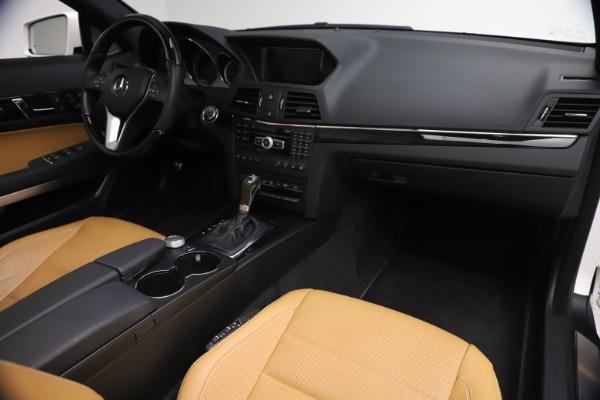 Used 2012 Mercedes-Benz E-Class E 550 for sale $29,990 at Bugatti of Greenwich in Greenwich CT 06830 27