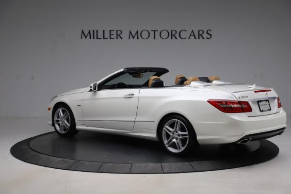 Used 2012 Mercedes-Benz E-Class E 550 for sale $29,990 at Bugatti of Greenwich in Greenwich CT 06830 3