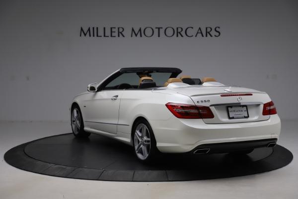 Used 2012 Mercedes-Benz E-Class E 550 for sale $29,990 at Bugatti of Greenwich in Greenwich CT 06830 4