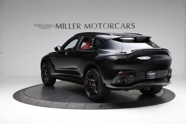 New 2021 Aston Martin DBX SUV for sale $200,986 at Bugatti of Greenwich in Greenwich CT 06830 4
