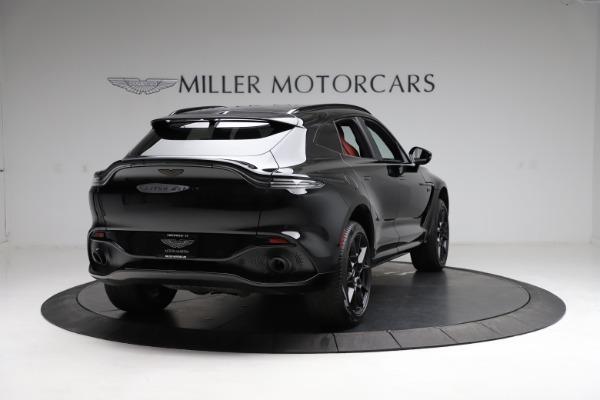 New 2021 Aston Martin DBX SUV for sale $200,986 at Bugatti of Greenwich in Greenwich CT 06830 6