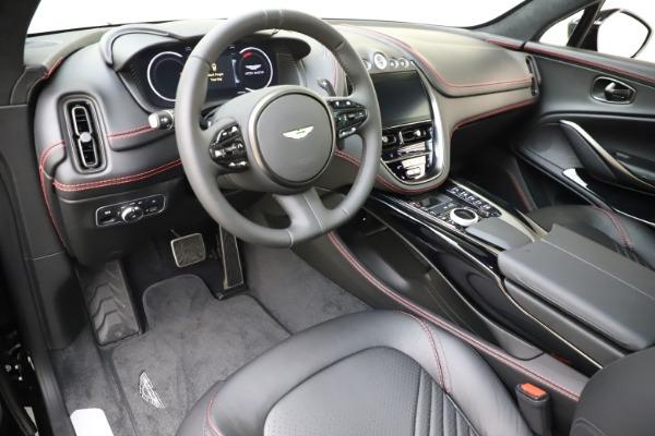 New 2021 Aston Martin DBX SUV for sale $212,686 at Bugatti of Greenwich in Greenwich CT 06830 14