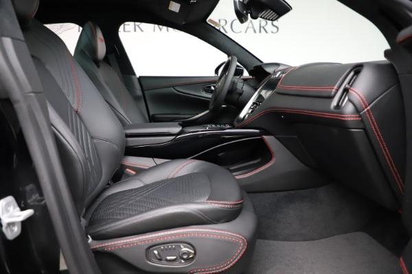 New 2021 Aston Martin DBX SUV for sale $212,686 at Bugatti of Greenwich in Greenwich CT 06830 21