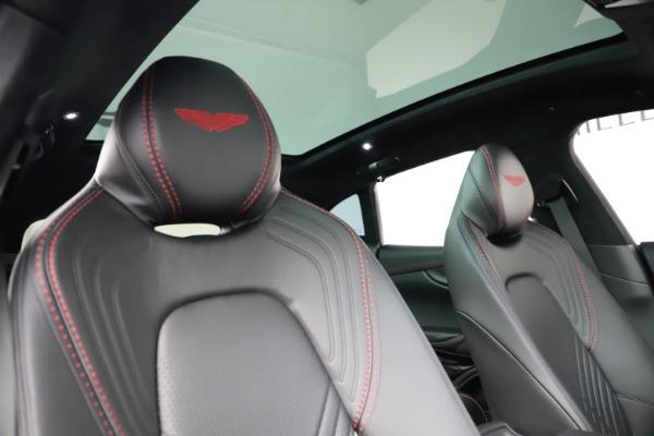 New 2021 Aston Martin DBX SUV for sale $212,686 at Bugatti of Greenwich in Greenwich CT 06830 22