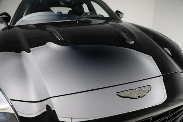 New 2021 Aston Martin DBX SUV for sale $212,686 at Bugatti of Greenwich in Greenwich CT 06830 23