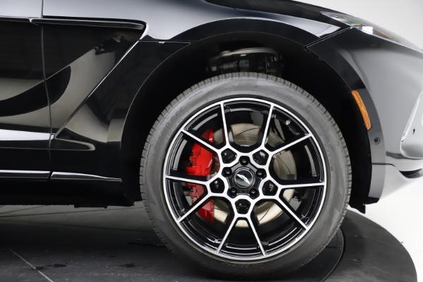 New 2021 Aston Martin DBX SUV for sale $212,686 at Bugatti of Greenwich in Greenwich CT 06830 25