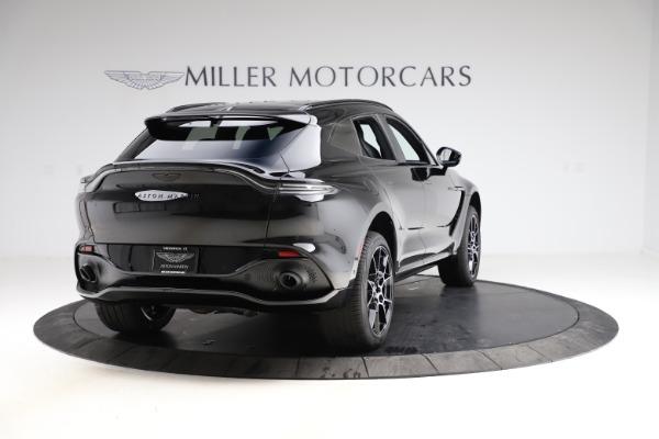 New 2021 Aston Martin DBX SUV for sale $212,686 at Bugatti of Greenwich in Greenwich CT 06830 6