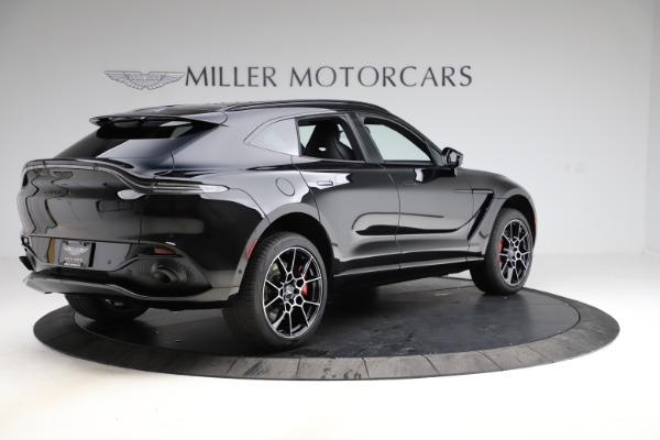 New 2021 Aston Martin DBX SUV for sale $212,686 at Bugatti of Greenwich in Greenwich CT 06830 7