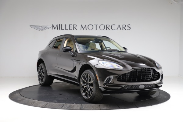 New 2021 Aston Martin DBX for sale $215,386 at Bugatti of Greenwich in Greenwich CT 06830 10