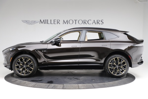New 2021 Aston Martin DBX SUV for sale $215,386 at Bugatti of Greenwich in Greenwich CT 06830 2