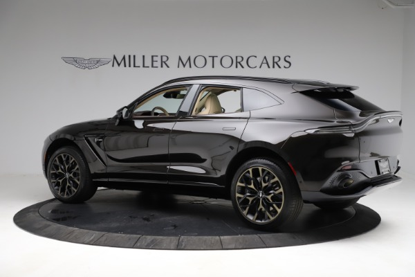 New 2021 Aston Martin DBX SUV for sale $215,386 at Bugatti of Greenwich in Greenwich CT 06830 3