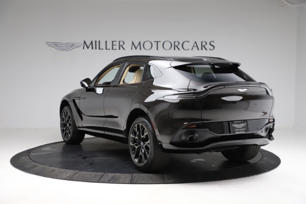New 2021 Aston Martin DBX SUV for sale $215,386 at Bugatti of Greenwich in Greenwich CT 06830 4