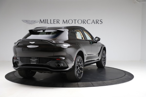 New 2021 Aston Martin DBX SUV for sale $215,386 at Bugatti of Greenwich in Greenwich CT 06830 6