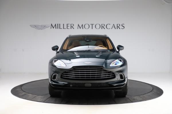 New 2021 Aston Martin DBX SUV for sale $221,386 at Bugatti of Greenwich in Greenwich CT 06830 10