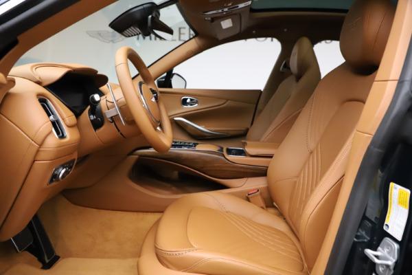 New 2021 Aston Martin DBX SUV for sale $221,386 at Bugatti of Greenwich in Greenwich CT 06830 11