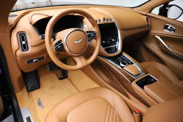 New 2021 Aston Martin DBX SUV for sale $221,386 at Bugatti of Greenwich in Greenwich CT 06830 12