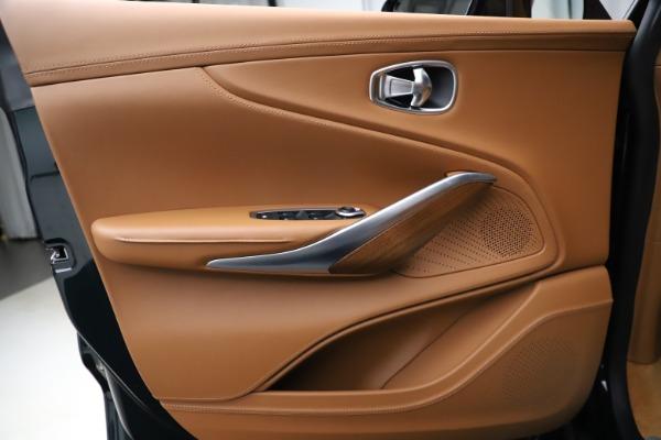 New 2021 Aston Martin DBX SUV for sale $221,386 at Bugatti of Greenwich in Greenwich CT 06830 13