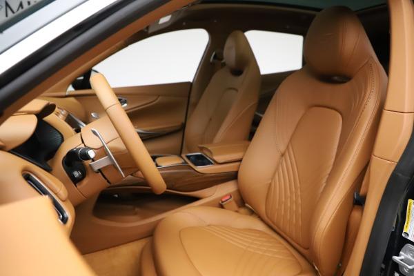 New 2021 Aston Martin DBX SUV for sale $221,386 at Bugatti of Greenwich in Greenwich CT 06830 14