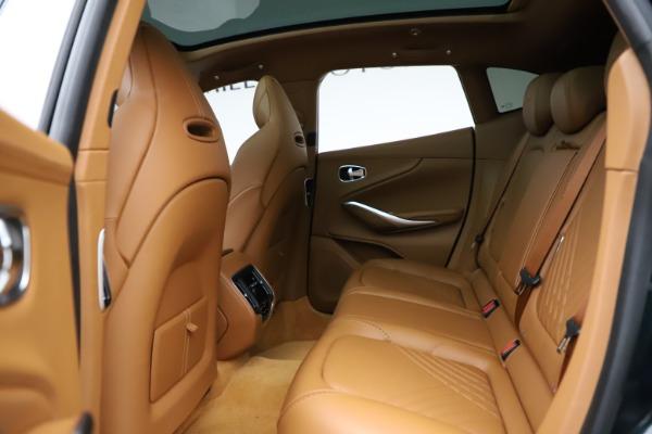 New 2021 Aston Martin DBX SUV for sale $221,386 at Bugatti of Greenwich in Greenwich CT 06830 15