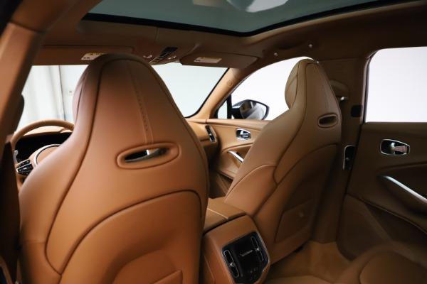 New 2021 Aston Martin DBX SUV for sale $221,386 at Bugatti of Greenwich in Greenwich CT 06830 16