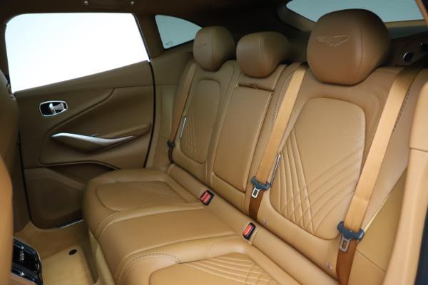 New 2021 Aston Martin DBX SUV for sale $221,386 at Bugatti of Greenwich in Greenwich CT 06830 17