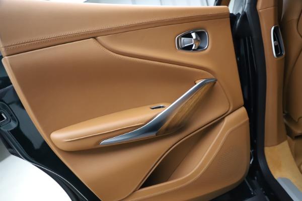 New 2021 Aston Martin DBX SUV for sale $221,386 at Bugatti of Greenwich in Greenwich CT 06830 18