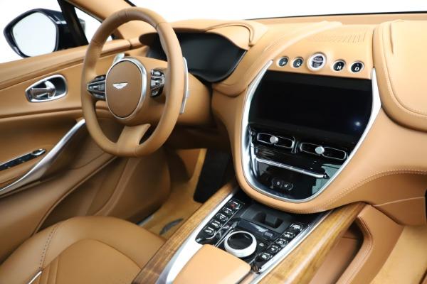 New 2021 Aston Martin DBX SUV for sale $221,386 at Bugatti of Greenwich in Greenwich CT 06830 19