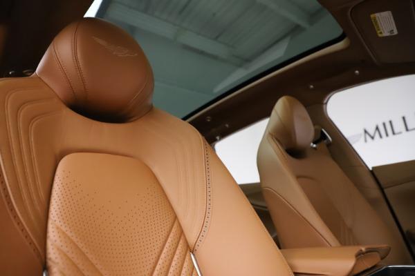 New 2021 Aston Martin DBX SUV for sale $221,386 at Bugatti of Greenwich in Greenwich CT 06830 21
