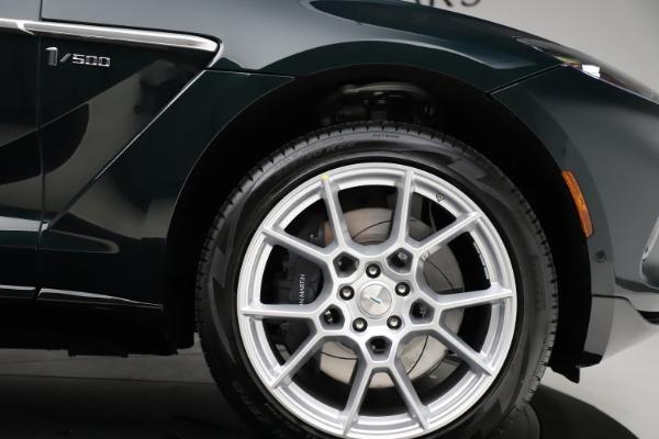 New 2021 Aston Martin DBX SUV for sale $221,386 at Bugatti of Greenwich in Greenwich CT 06830 22