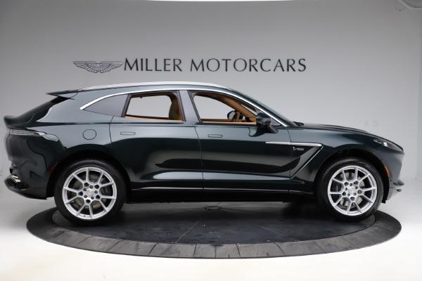New 2021 Aston Martin DBX SUV for sale $221,386 at Bugatti of Greenwich in Greenwich CT 06830 8