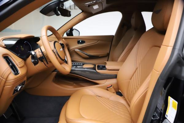 New 2021 Aston Martin DBX SUV for sale $264,386 at Bugatti of Greenwich in Greenwich CT 06830 13