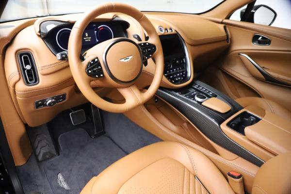 New 2021 Aston Martin DBX SUV for sale $264,386 at Bugatti of Greenwich in Greenwich CT 06830 14