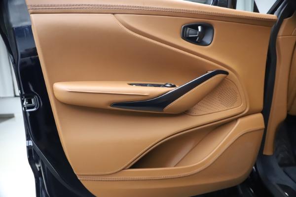 New 2021 Aston Martin DBX SUV for sale $264,386 at Bugatti of Greenwich in Greenwich CT 06830 16