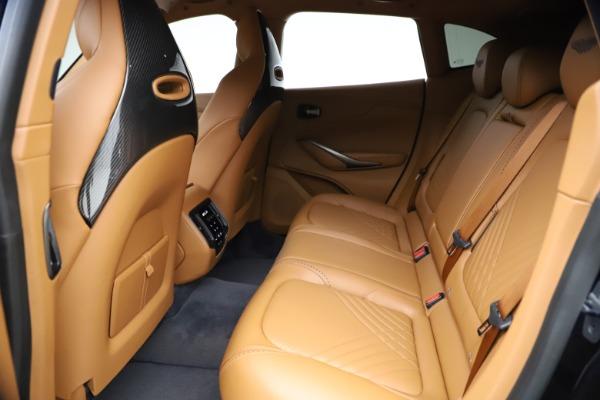 New 2021 Aston Martin DBX for sale $264,386 at Bugatti of Greenwich in Greenwich CT 06830 17