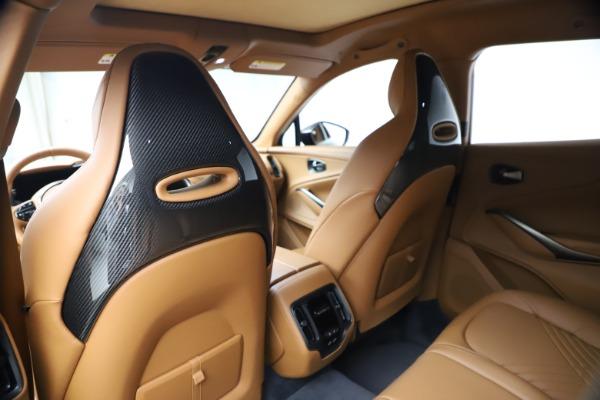 New 2021 Aston Martin DBX SUV for sale $264,386 at Bugatti of Greenwich in Greenwich CT 06830 18
