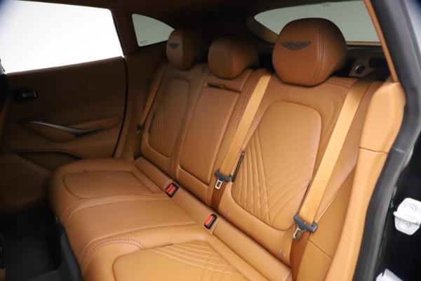 New 2021 Aston Martin DBX SUV for sale $264,386 at Bugatti of Greenwich in Greenwich CT 06830 19