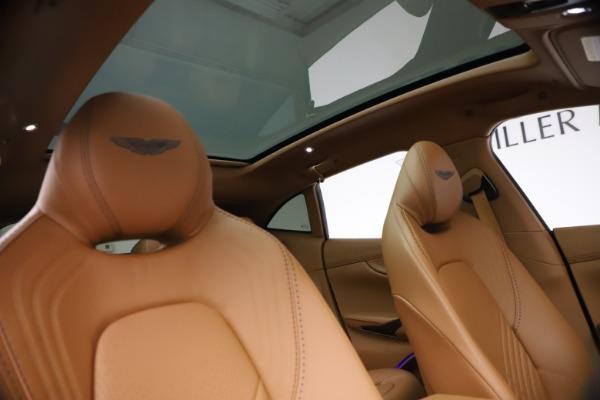 New 2021 Aston Martin DBX SUV for sale $264,386 at Bugatti of Greenwich in Greenwich CT 06830 21