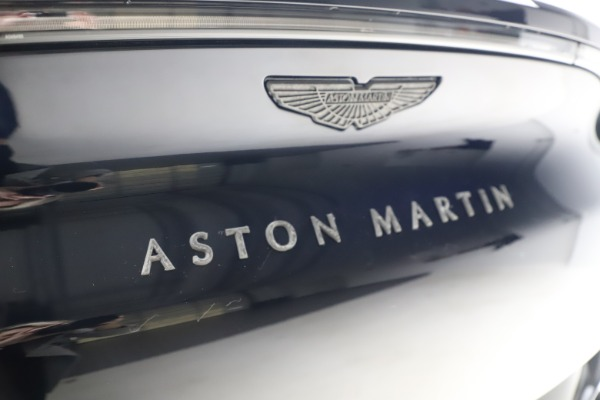 New 2021 Aston Martin DBX SUV for sale $264,386 at Bugatti of Greenwich in Greenwich CT 06830 25