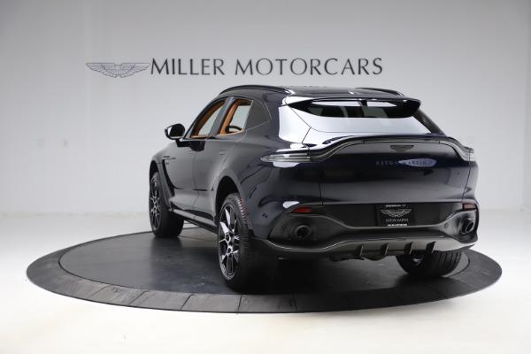 New 2021 Aston Martin DBX SUV for sale $264,386 at Bugatti of Greenwich in Greenwich CT 06830 4