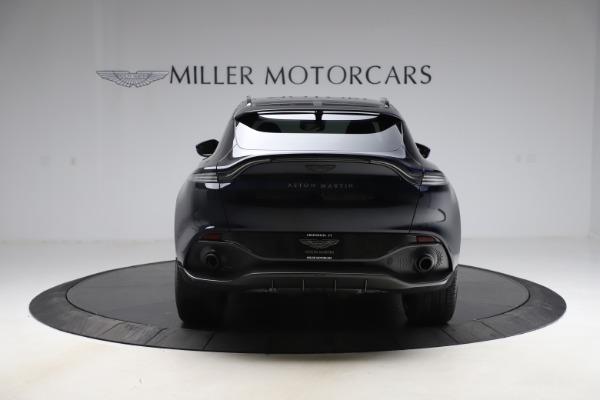 New 2021 Aston Martin DBX SUV for sale $264,386 at Bugatti of Greenwich in Greenwich CT 06830 5