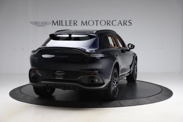 New 2021 Aston Martin DBX SUV for sale $264,386 at Bugatti of Greenwich in Greenwich CT 06830 6
