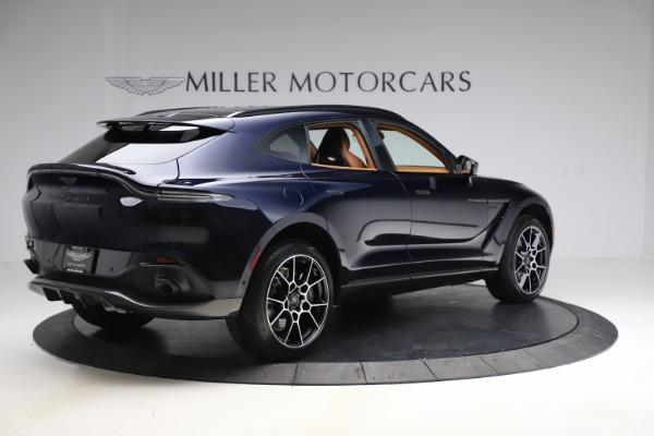 New 2021 Aston Martin DBX SUV for sale $264,386 at Bugatti of Greenwich in Greenwich CT 06830 7
