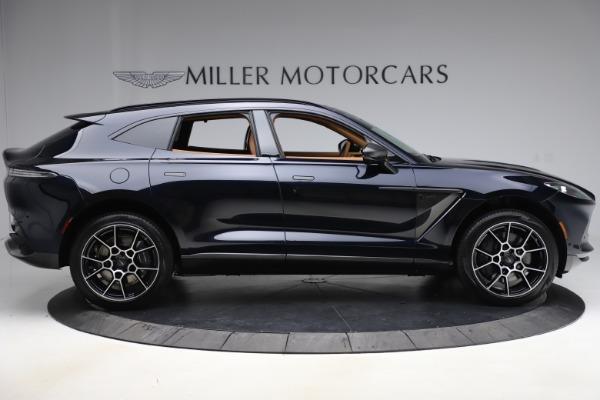 New 2021 Aston Martin DBX SUV for sale $264,386 at Bugatti of Greenwich in Greenwich CT 06830 8