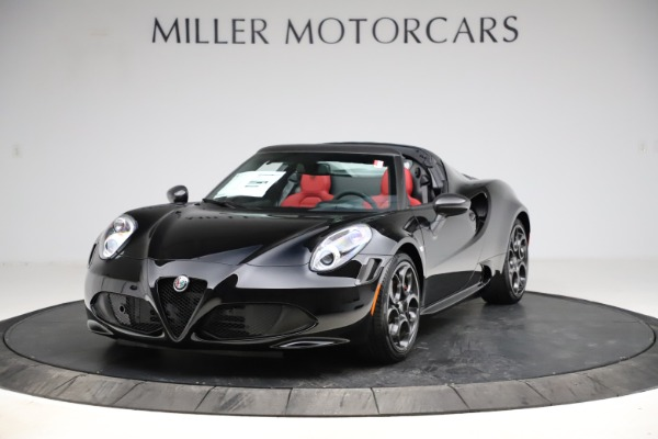 New 2020 Alfa Romeo 4C Spider for sale Sold at Bugatti of Greenwich in Greenwich CT 06830 1