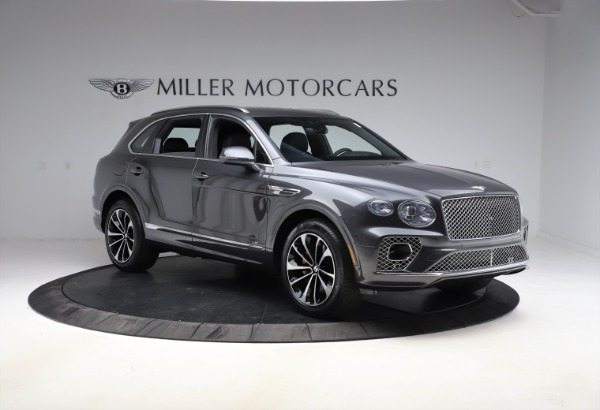 New 2021 Bentley Bentayga V8 for sale $213,720 at Bugatti of Greenwich in Greenwich CT 06830 11