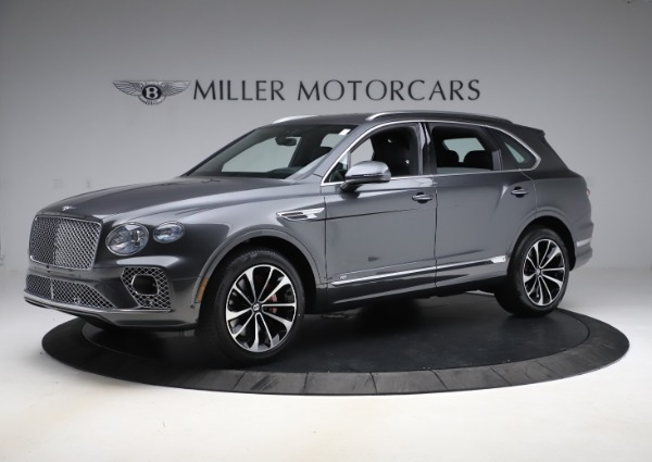 New 2021 Bentley Bentayga V8 for sale $213,720 at Bugatti of Greenwich in Greenwich CT 06830 2