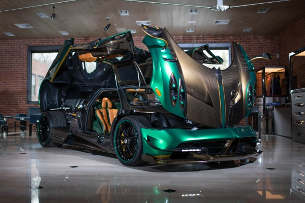 Used 2017 Pagani Huayra BC for sale Call for price at Bugatti of Greenwich in Greenwich CT 06830 3