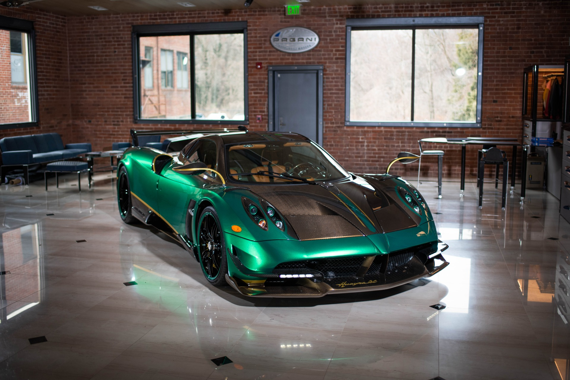 Used 2017 Pagani Huayra BC for sale Call for price at Bugatti of Greenwich in Greenwich CT 06830 1