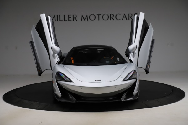 Used 2019 McLaren 600LT for sale $223,900 at Bugatti of Greenwich in Greenwich CT 06830 12