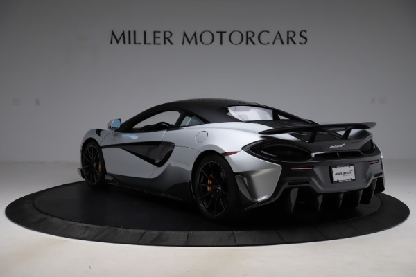 Used 2019 McLaren 600LT for sale $223,900 at Bugatti of Greenwich in Greenwich CT 06830 4